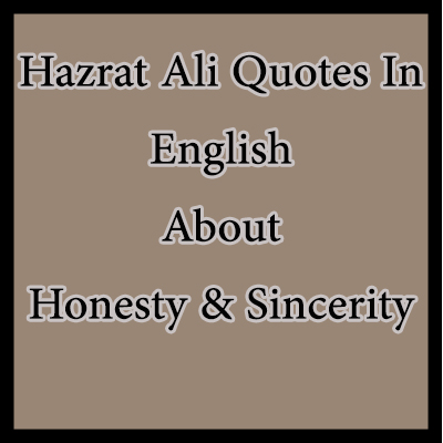 honesty quotes sincerity