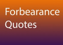 forbearance quotes