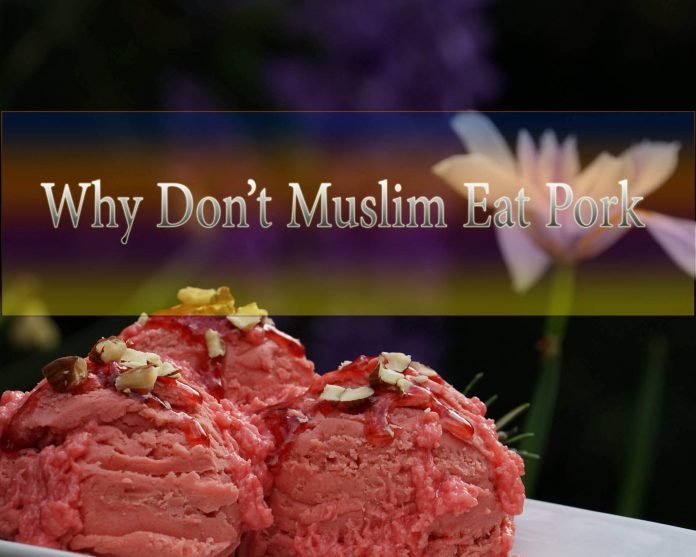 why do muslim not eat pork