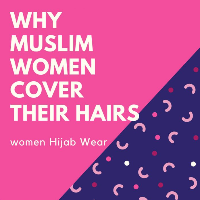 Muslim women hijab wear